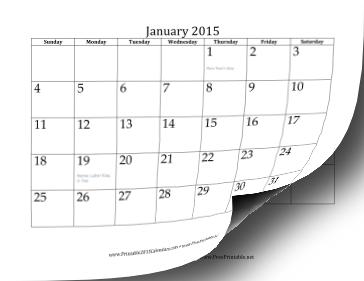 2015 Calendar (12 pages) Calendar