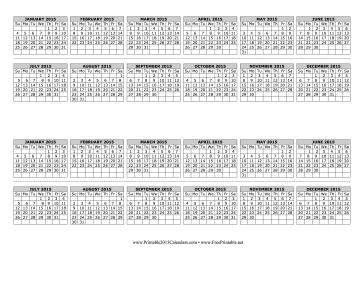 2015 Computer Monitor Calendar Calendar